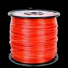 5lb .095 Square Orange Commercial Trimmer Line Spool Roll Fits Echo Redmax Stihl