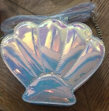 Limited Edition Primark Shell Mermaid Iridescent Across Body Bag Festival BNWT