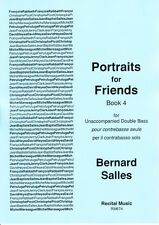 Salles: Portraits for Friends Book 4 (Double Bass Solo) RM674