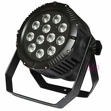12x10W 5 IN1 RGBWY led par 64 dj stage light with IP65 waterproof for outdoor