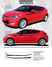 FOR HYUNDAI VELOSTER EE1934 Graphics Decals Trim Emblems 2012-2015