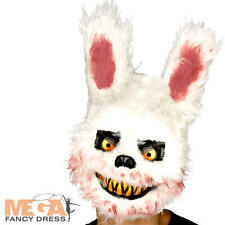 Zombie Killer Bunny Mask Adults Fancy Dress Halloween Animal Rabbit Costume Mask