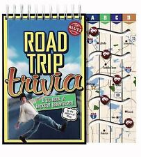 Road Trip Trivia: A Big Book of Backseat Brainteasers (Klutz)-ExLibrary