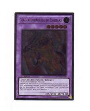 Gladiatorungeheuer Essedarii  EXVC-DE086 Ultimate Rare 1. Auflage Boosterfrisch!