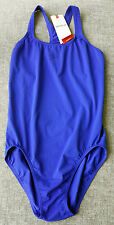 SPEEDO Womens Endurance Medalist 1PC AUS Size 16  X Large Blue Brand New wtag