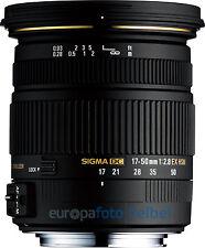SIGMA AF 17-50 mm f/2, 8 EX DC OS HSM per Canon EOS 1200d 700d 650d 60d 70d ecc.