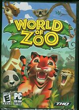 World of Zoo PC Video Game Brand New & Factory Sealed Windows Vista/XP PC DVD