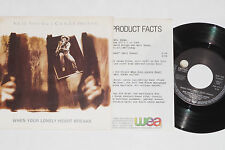 """NEIL YOUNG & CRAZY HORSE -When Your Lonely- 7"""" 45 mit Product Facts Promo-Flyer"""