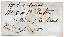 * 1847 HAMPSHIRE POSTMARK ANDOVER ROAD COVER TO LONDON MITCHELDEVER PENNY POST