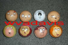 8 Family Guy Buildables Gumball Vending Machine Toys Peter Meg Lois Stewie Chris