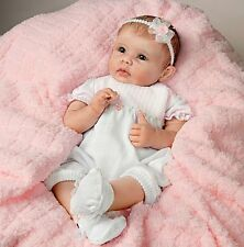 Olivia's Touch - She Really Holds Your Hand! 22 Inch Collectors Baby Girl Doll