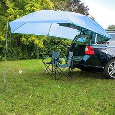 UV 40 Auto Sonnensegel PKW – Vordach Windschutz – Zelt Plane mit Stangen 2 x 3 m