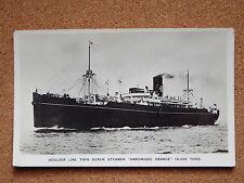 R&L Postcard: Houlder Line Twin Screw Steam Hardwicke Grange