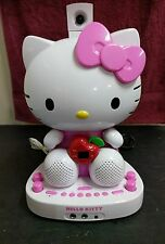 Hello Kitty CDG Karaoke System with Built-in Video Camera , missing mic !