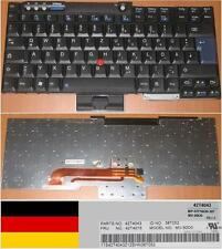 CLAVIER QWERTZ ALLEMAND Lenovo ThinkPad T60 R60  42T4043 42T4075 MV-90D0 48T052