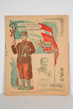 Programme XXXV° Fête Fédérale Gymnastique de France Angers 1909 Nomb Publicités