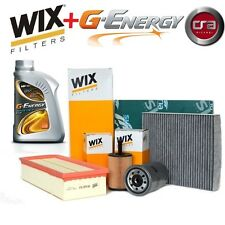 KIT TAGLIANDO OLIO MOTORE G-ENERGY 5W30 5LT 4 FILTRI WIX VW GOLF 5 V 1.9 TDI 105