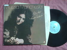 MELISSA MANCHESTER-BETTER DAYS & HAPPY ENDINGS LP + INNER SLEEVE