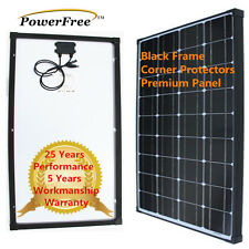 100W 100 Watt Mono Solar Panel for Off Grid 12v volt Battery RV Boat Charger