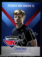 Patrick von Gunten Kloten Flyers 2012-13 TOP AK Orig. Sign. Eishockey +A 58746