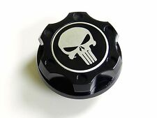 FORD MUSTANG PUNISHER BILLET BLACK ENGINE OIL CAP