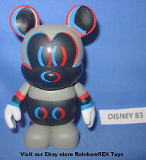 "DISNEY VINYLMATION 3"" URBAN SERIES #5 CHASER 3D MICKEY MOUSE"