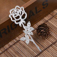 Rose Flower Metal Cutting Dies Stencil For Scrapbooking Paper Cards Decor Crafts