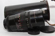 PENTACON 200mm 4 Obiettivo *MONSTER BOKEH* 15 Lame Reflex Vite M42 + Custodia |