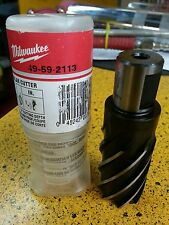 MILWAUKEE 49-59-2113 HIGH SPEED STEEL ANNULAR CUTTER 1-1/8""