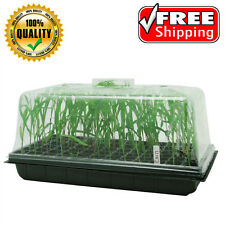 "Seedling Starter Cloning Propagation Tray, 7"" Tall Dome Went Control, 10"" x 20"""