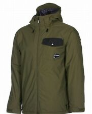 Volcom Discourse Snowboard Jacket (L) Military