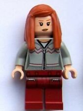 LEGO - HARRY POTTER - Ginny Weasley, Light Bluish Gray Knitwear - MINI FIG