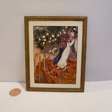 EXQUISITE MINIATURE PAINTING BY MELISSA WOLCOTT SIGNED/DATED 1999