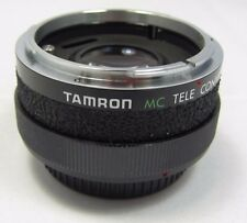 Used TAMRON MC TELE CONVERTER 2X C/FD LENS  Manual focus Made in JAPAN 6419024