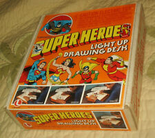 Lakeside 19** Batman Wonder Woman Super Light Up Drawing Desk Superheroes