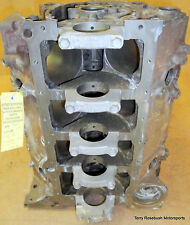 """GM 14093638 SBChevy 350 Bare Block, 2 Bolt, Factory Roller, 4.00"""" Bore, 1pc Seal"""