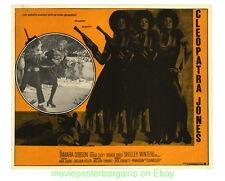 CLEOPATRA JONES Lobby Card 12x16 Inch Movie Poster Mexican TAMARA DOBSON 1973