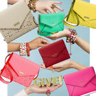 *ALL COLORS!* KATE SPADE MONDAY Leather Envelope Clutch Wallet iPhone purse NWT