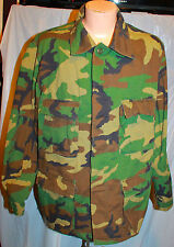 US ARMY EARLY  WHITE TAG 1ST PATTERN M81 WOODLAND CAMO BDU JACKET SHIRT