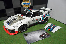 PORSCHE 935 TURBO Martini WORLD CHAMPION 1976 6H DIJON ICKX 1/18 EXOTO 18104