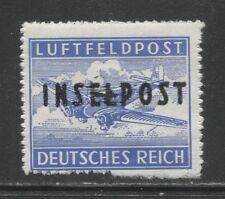 1944 Germany  Military Mail (Inselpost) mint hinged € 150.00