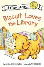 Biscuit Loves the Library (My First I Can Read)