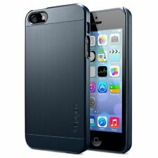 SPIGEN SGP Case Slim Ultra Fit S Matte Hard Case for iphone 5 Metal Slate