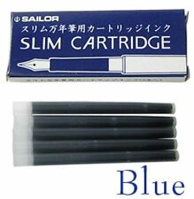 Sailor Refills Chalana Fountain Pen Ink Cartridges Blue