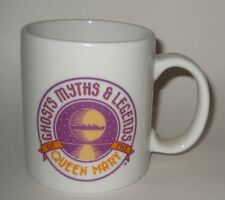Queen Mary Luxury Liner Ceramic Ghosts Myths Legends Mug Long Beach Cal RETIRED