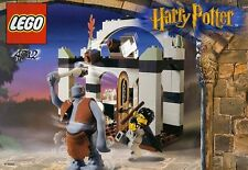 LEGO HARRY POTTER TROLL ON THE LOOSE 4712 RARE 2 FIGURES 100% COMPLETE GUARANTEE