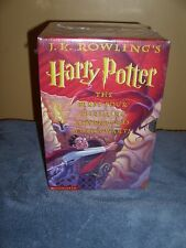 HARRY POTTER (4 Volumes box set) Hardcover NEW! Discover the Magic & Fantasy!!