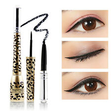 Pro Waterproof Eyeliner Liquid+Eye Liner Pencil Pen Beauty Make Up Cosmetics Set