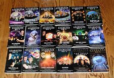 LOT 18 STARGATE SG-1 paperbacks pb 2-17 + 2 Excellent Cond PRICE YOU PAY Ashley