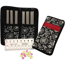 "ChiaoGoo Double Point Stainless Steel 6"" Knitting Needles Set"